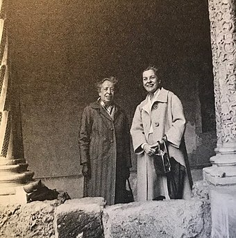 Arendt with Mary McCarthy Arendt and McCarthy.jpg