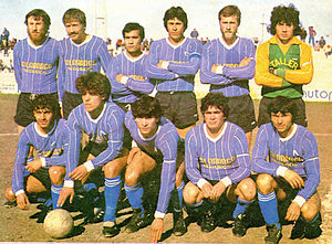 Argentino de Merlo - The team that won its first title, the 1985 Primera D.