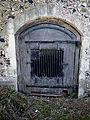 Arkesden Church of St Mary chancel tomb vault, Essex, England.jpg