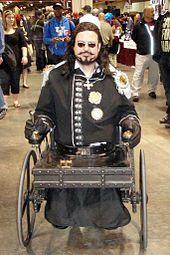 Arliss Loveless character in ste&unk wheelchair costume from the 1999 film Wild Wild West  sc 1 st  Wikipedia & Steampunk - Wikipedia