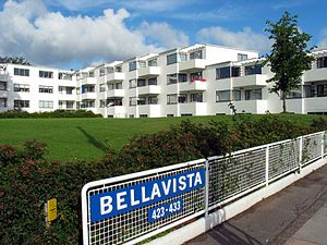 Bellavista housing estate - Image: Arne Jacobsen Bellavista 2005 01