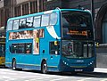 Arriva bus 7512 Alexander Dennis Trident 2 Enviro 400 NK57 GXE in Newcastle upon Tyne 9 May 2009 pic 2.jpg