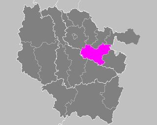 Arrondissement of Château-Salins Former arrondissement in Grand Est, France