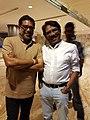 Art Director M.Prabakaran with Director Bharathiraja.jpg