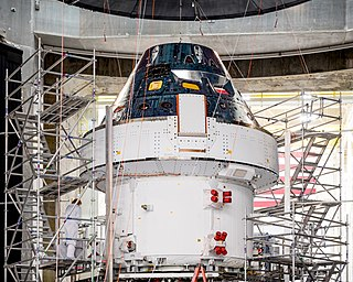 Orion (spacecraft) American–European spacecraft class in development for the Artemis program