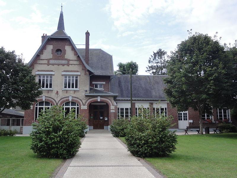 Artemps (Aisne) mairie-école