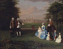 Arthur Devis: Robert Gwillym of Atherton and His Family