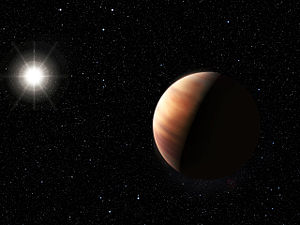 HIP 11915 b - An artist's impression of the exoplanet HIP 11915 b.