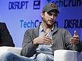 Ashton Kutcher of A-Grade speaks onstage at TechCrunch Disrupt NY 2013.jpg