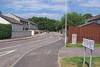 Raigmore - Houses in Raigmore estate