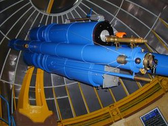 Max Wolf - The Bruce double astrograph at Heidelberg Observatory
