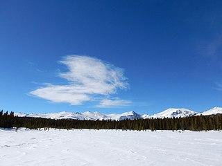 Atlantic Peak mountain in Wyoming, United States of America