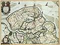 Atlas Van der Hagen-KW1049B11 071-t Meerderdeel van t OOST-VRYE in VLAENDEREN vertoonende doprechte gelegenh- der Landen, Fortressen, Schansen ende de nieuw bedijckte Polders.jpeg