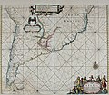 Atlas maritimus, or A book of charts - Describeing the sea coasts capes headlands sands shoals rocks and dangers the bayes roads harbors rivers and ports, in most of the knowne parts of the world. (14730462276).jpg
