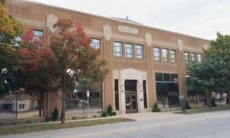 National Register of Historic Places listings in DeKalb County, Indiana - Image: Auburn Cord Duesenberg Museum 2004