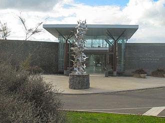 Auckland Botanic Gardens - Visitor centre