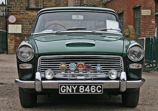 Austin A110 Westminster MkII head