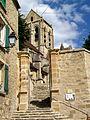 Auvers-sur-Oise (95), église Notre-Dame, escalier de 1615, rue Daubigny.jpg