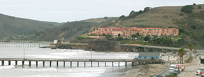 Avila Beach, CA and the pier