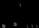Kemia strukturo de Azidomorphine.