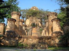 Bình đài ở tháp Ponagar, Nha Trang