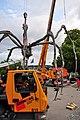 Bürkliplatz - Demontage 'Maman' 2011-07-28 20-21-26.JPG