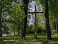 Błażowa - Krzyż przy Kościele pw. Św. Marcina - panoramio.jpg