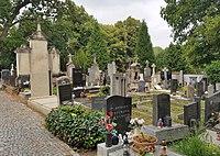 Břevnov cemetery, south part, Praha.jpg