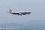 B-5583, Boeing 737-89L, CA857, from Shanghai (18452216315).jpg