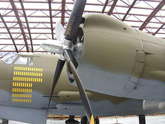 Pratt & Whitney R-2800 Double Wasp - Martin B-26 Marauder