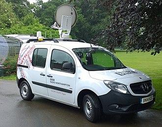 BBC Radio Northampton - Satellite Van