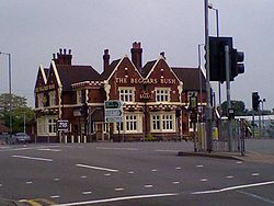 The Beggars Bush pub in New Oscott
