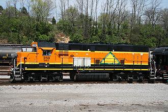 Brookville BL20CG - Image: BMEX 259
