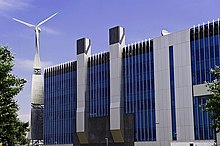 BSkyB Wind Turbine, Harlequin Avenue, London 02.jpg