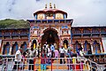 Badrinath temple entrance.JPG