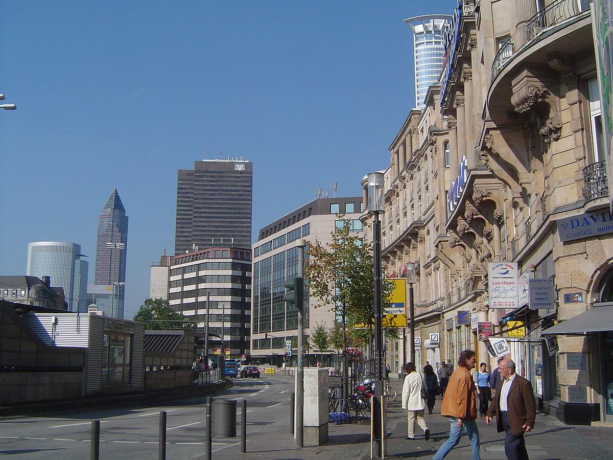 Am hauptbahnhof wikipedia - Mobel frankfurt am main ...