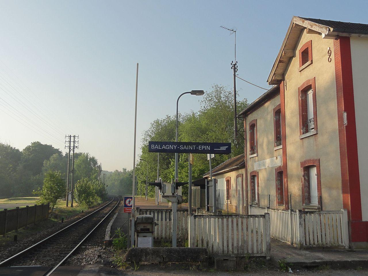 Fichier Balagny Sur Th Rain 60 Gare De Balagny Saint