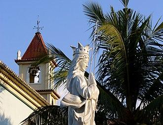 Religion in East Timor - Statue of Saint Mary outside Balide church, East Timor