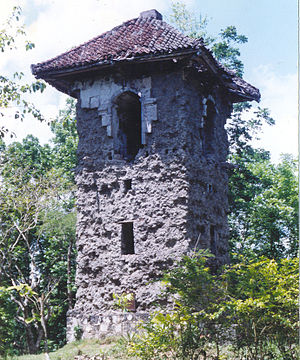 Balilihan, Bohol - Spanish Belfry in Poblacion, Balilihan - served as the watch tower during Spanish regime
