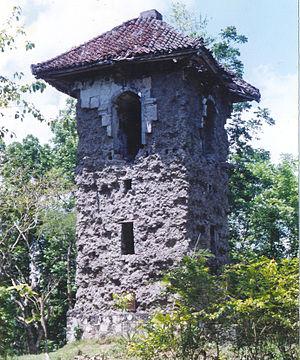 Balilihan, Bohol - Spanish Belfry in Poblacion, Balilihan - served as the watch tower during Spanish regime