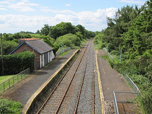 Ballinderry railway station - Ballinderry railway station