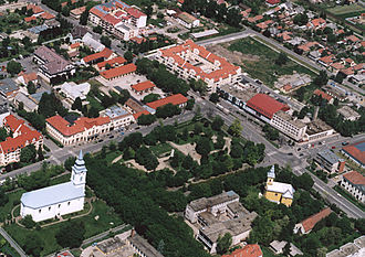 Balmazújváros - Aerial view