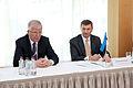 Baltijas Ministru padomes neformālajā darba sesijā tiekas Latvijas, Lietuvas un Igaunijas premjerministri (8888426946).jpg