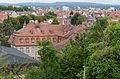 Bamberg, Untere Sandstraße 32, Dachlandschaft, vom Michaelsberg-001.jpg