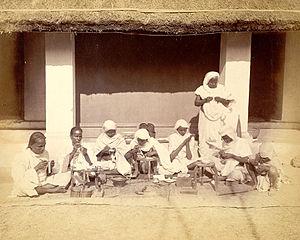 Tarakasi - Tarkasi workers photo before 200 years in British library