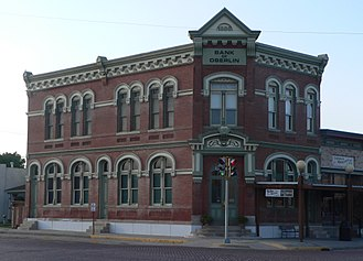 Decatur County, Kansas - Image: Bank of Oberlin from SE 1
