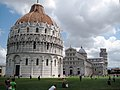 Baptistry and Duomo in Pisa - panoramio.jpg