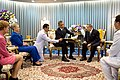 Barack Obama and Bhumibol Adulyadej at Siriraj Hospital.jpg