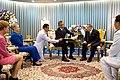 Barack Obama and Bhumibol Adulyadej at Siriraj Hospital.jpg