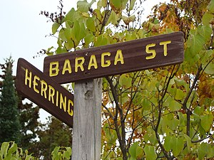 Frederic Baraga - Baraga Street is located near the Catholic Church on Madeline Island. Baraga once operated a mission on the Island.